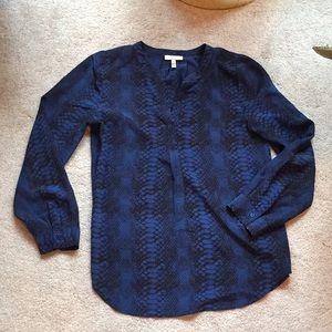 Joie python print blouse.